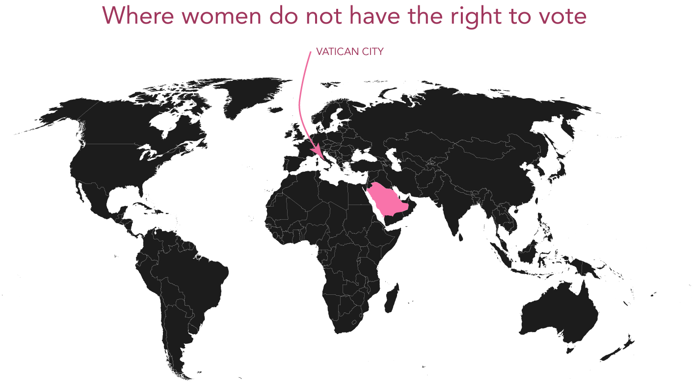 The Only 2 Countries In The World Where Women Still Can T Vote
