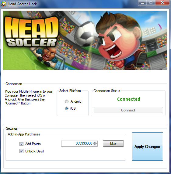 Head Soccer Hack Get 999 999 Points Tutorial 100 Undetectable Head Soccer Hack And Cheats Head Soccer Hack 2020 Up In 2020 Head Soccer Tool Hacks Game Cheats