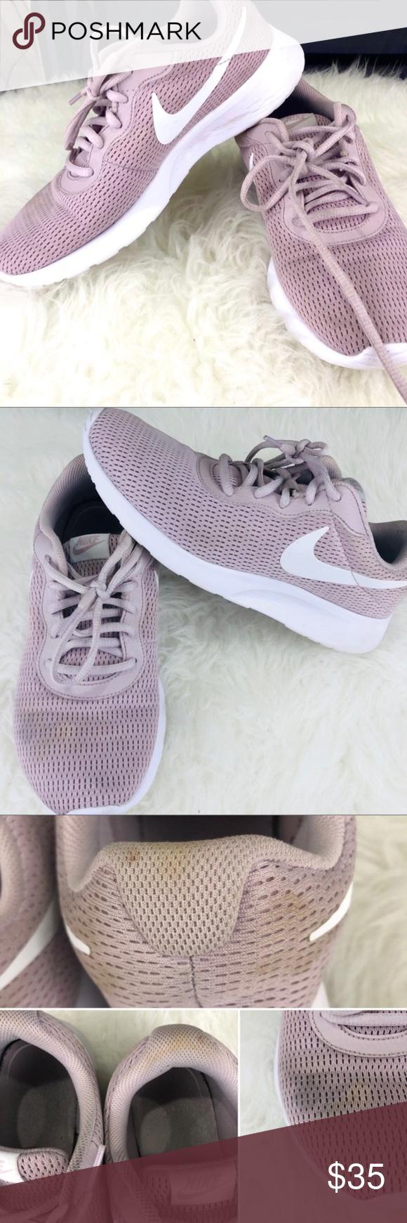 NIKE Tajun sneaker 8.5 pink / blush