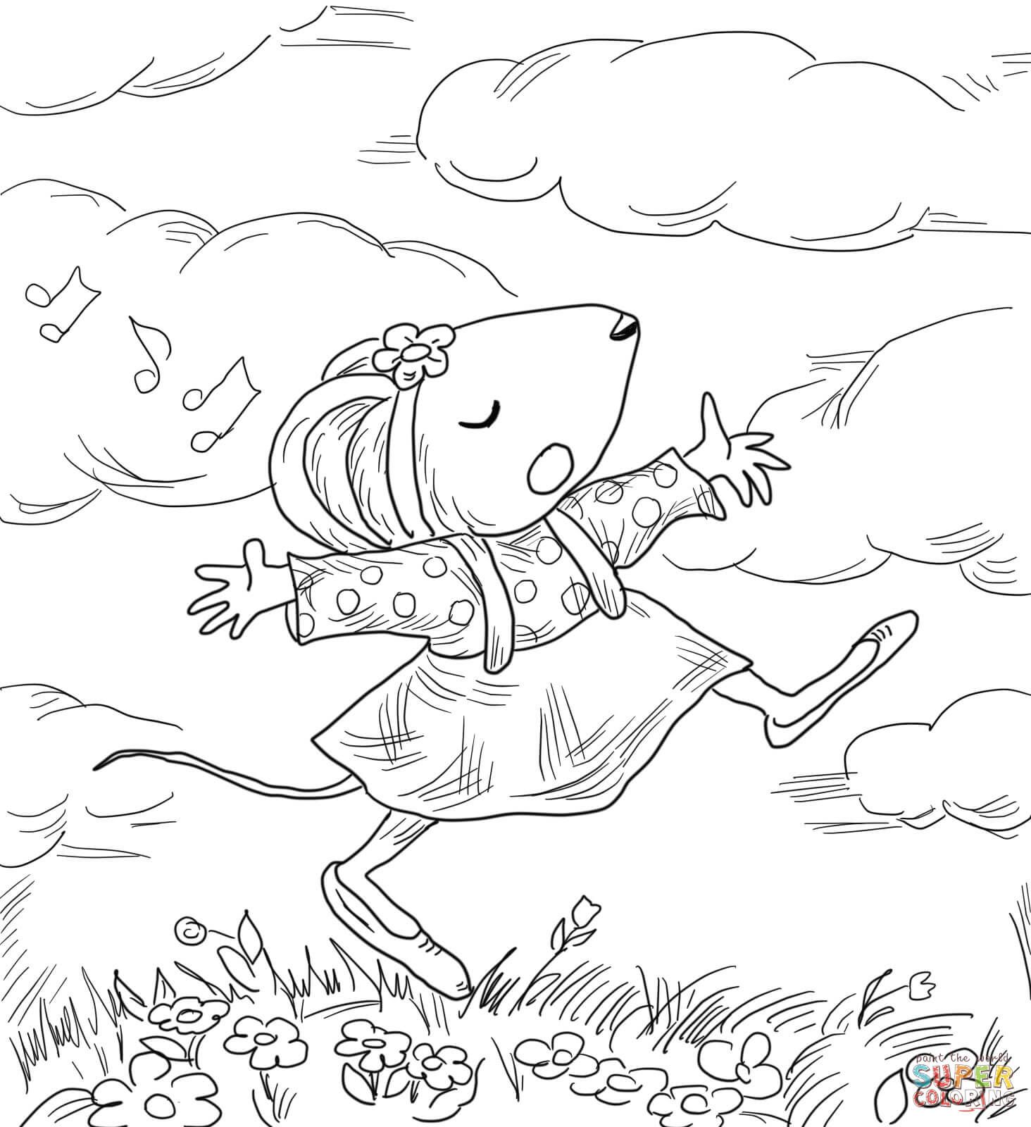 Kevin Henkes Chrysanthemum Chrysanthemum Penny And Her Free Coloring Pages Coloring Pages Bunny Coloring Pages
