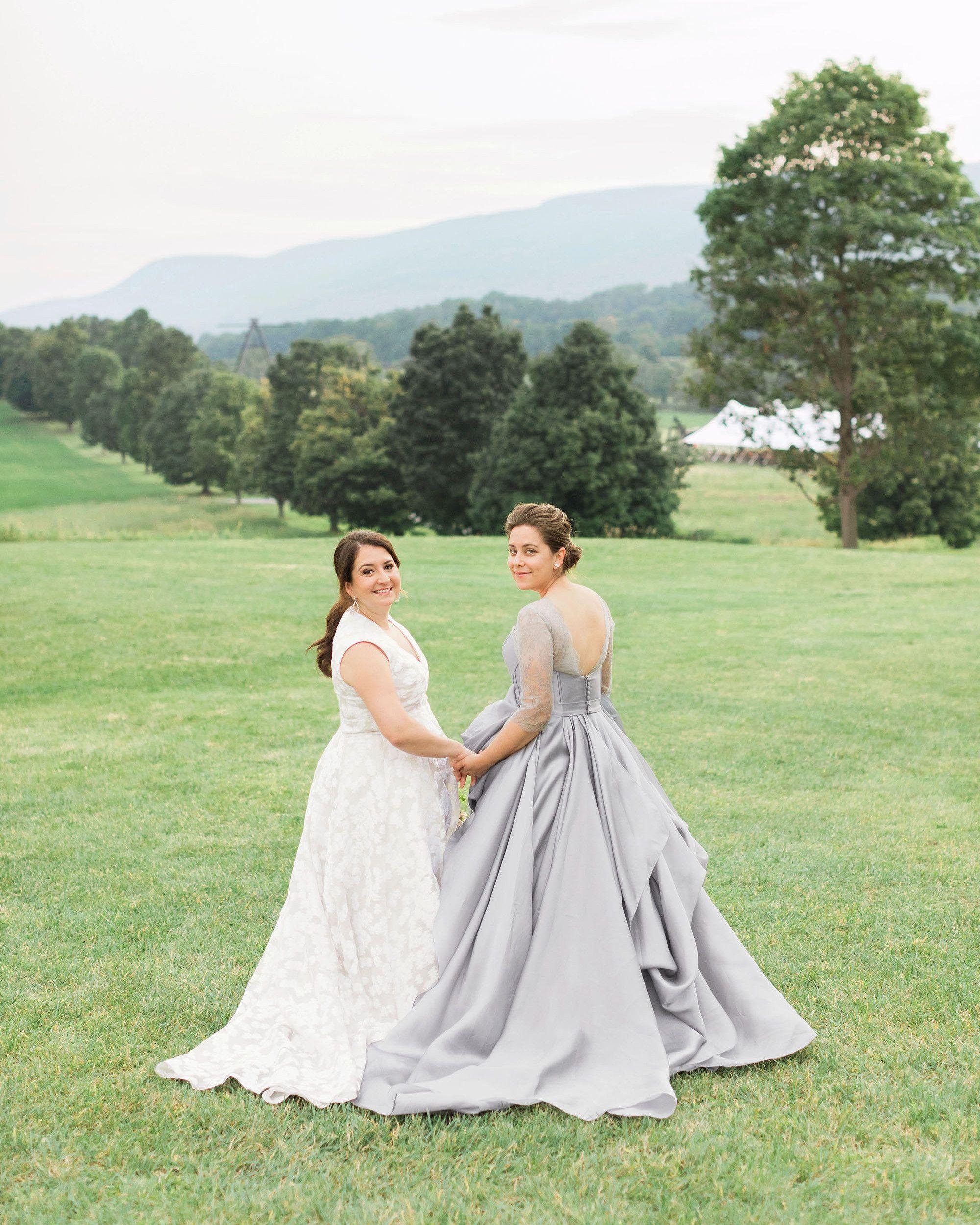 A beautiful summer wedding at a new york sculpture park wedding
