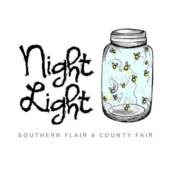 digital clip art mason jar fireflies - Google Search ...