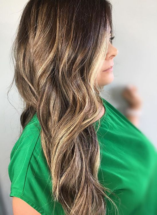 Top 10 Balayage Fall Hair Color Trends 2017 2018 For Older Women