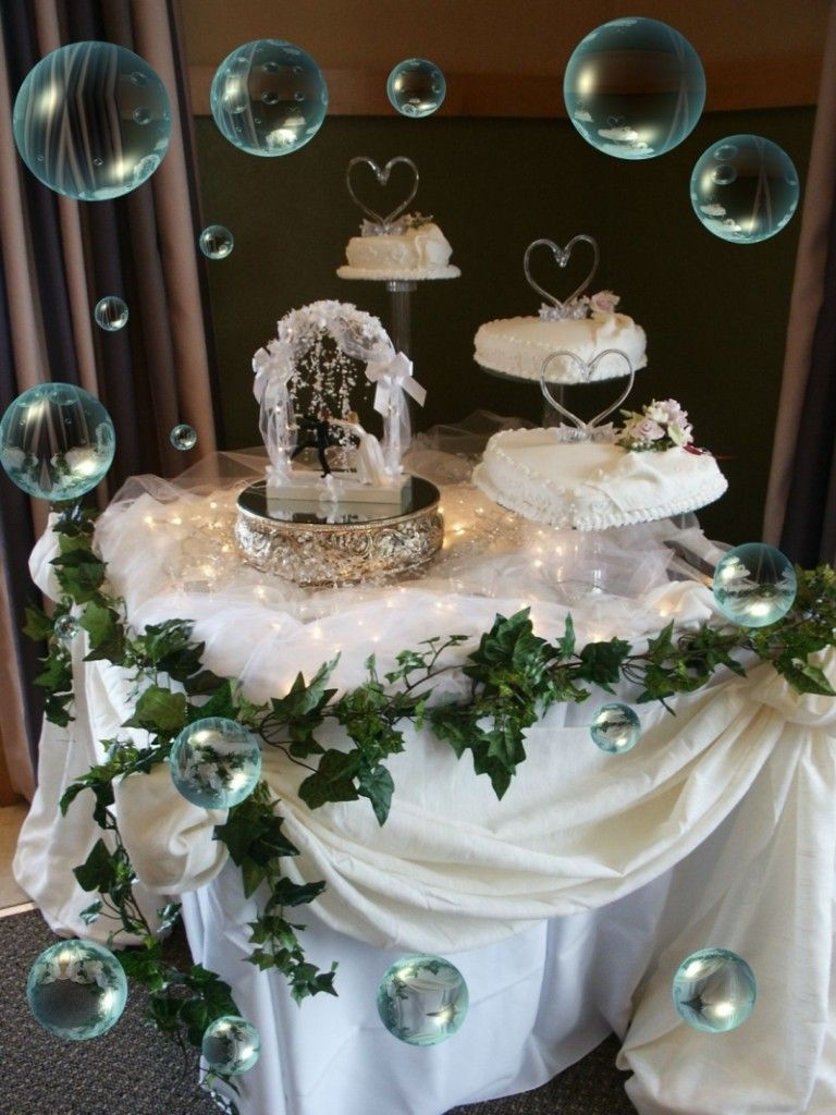 ideas to decorate a wedding cake table plain white simple wedding cake table decoration wedding 16299