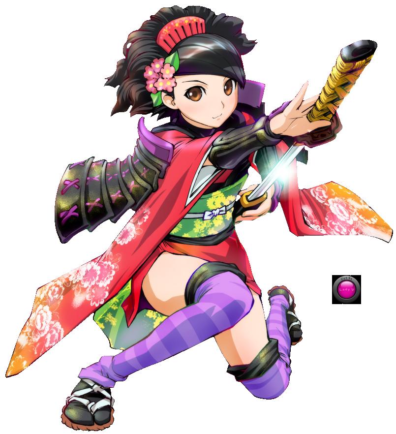 female samurai anime Renders Ladyvamptress Samurai