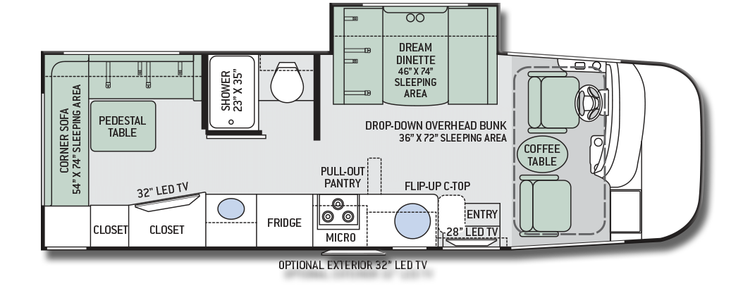 Excellent Renegade Motorhome Floor Plans