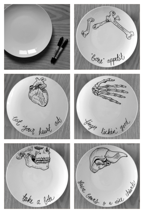 You could buy white plates from the dollar tree and do this. Still cheap and  sc 1 st  Pinterest & You could buy white plates from the dollar tree and do this. Still ...