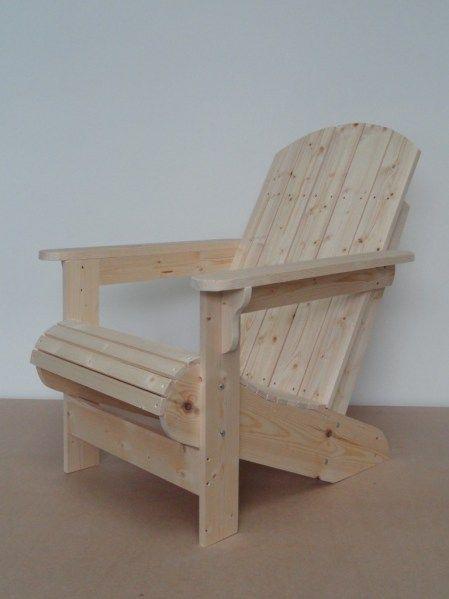 Chaise de jardin Adirondack vs Muskoka vs Westport Pinterest
