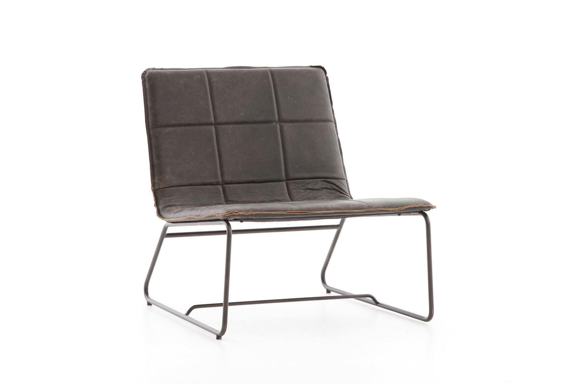 Outstanding Rialto Ebony Waxed Black Lounge Chair Black Lounge Chair Machost Co Dining Chair Design Ideas Machostcouk