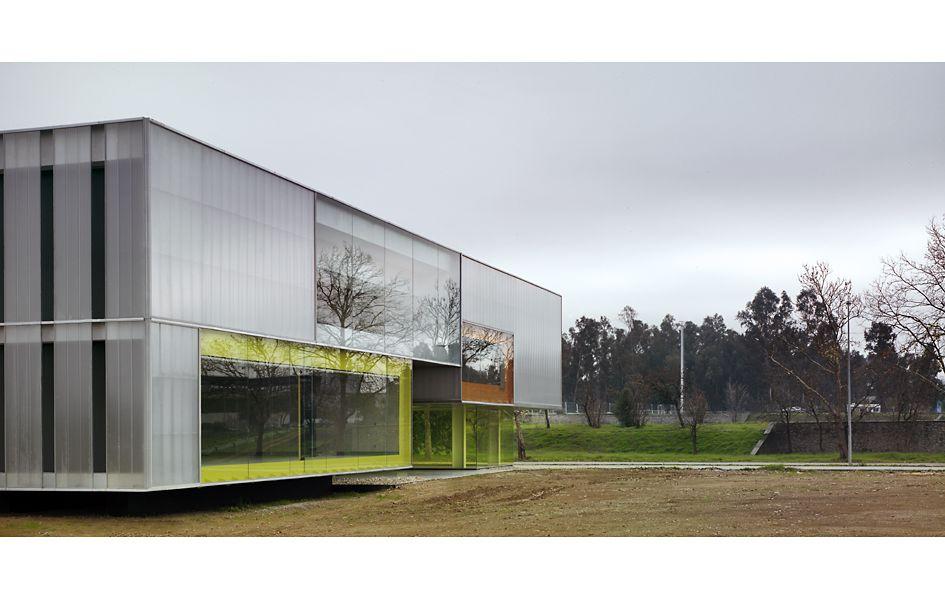 AF6 Arquitectos    Edificio para 24 aulas y departamentos. Universidad Pablo de Olavide. (Sevilla, España)