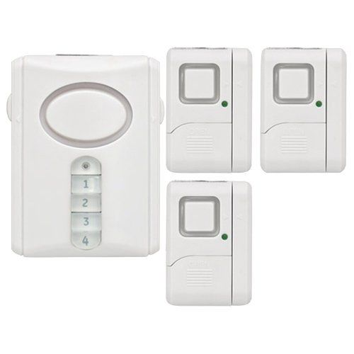 Ge 51107 Smart Home Wireless Alarm System Kit By Ge Http Www Amazon Com Dp B00032avn6 Re With Images Wireless Alarm Wireless Home Security Systems Wireless Alarm System