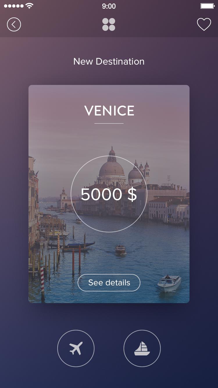 Venice card full