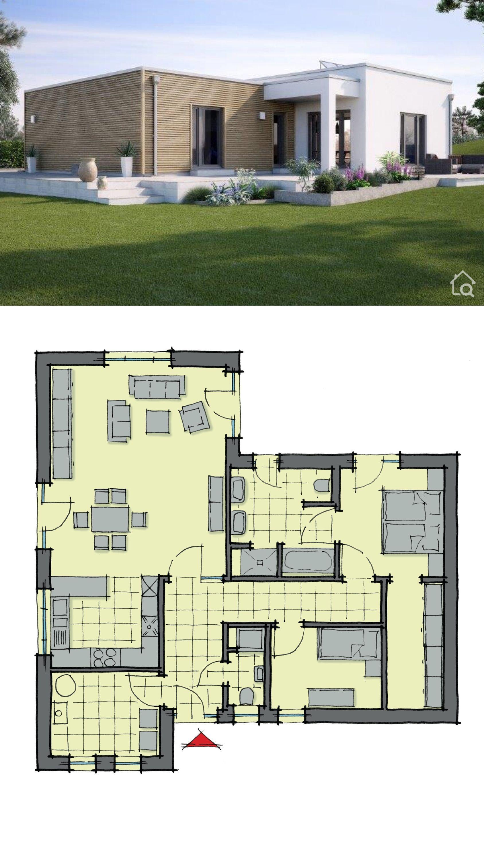 Fertighaus Variant 35 172 Plany Nebolshih Domov Arhitektura Arhitektura Doma