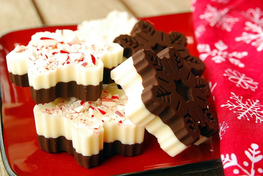 Holiday Cookie Countdown: Snowflake Peppermint Bark