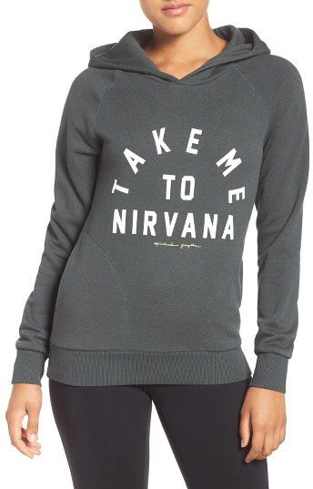Women's Spiritual Gangster Take Me To Nirvana Hoodie