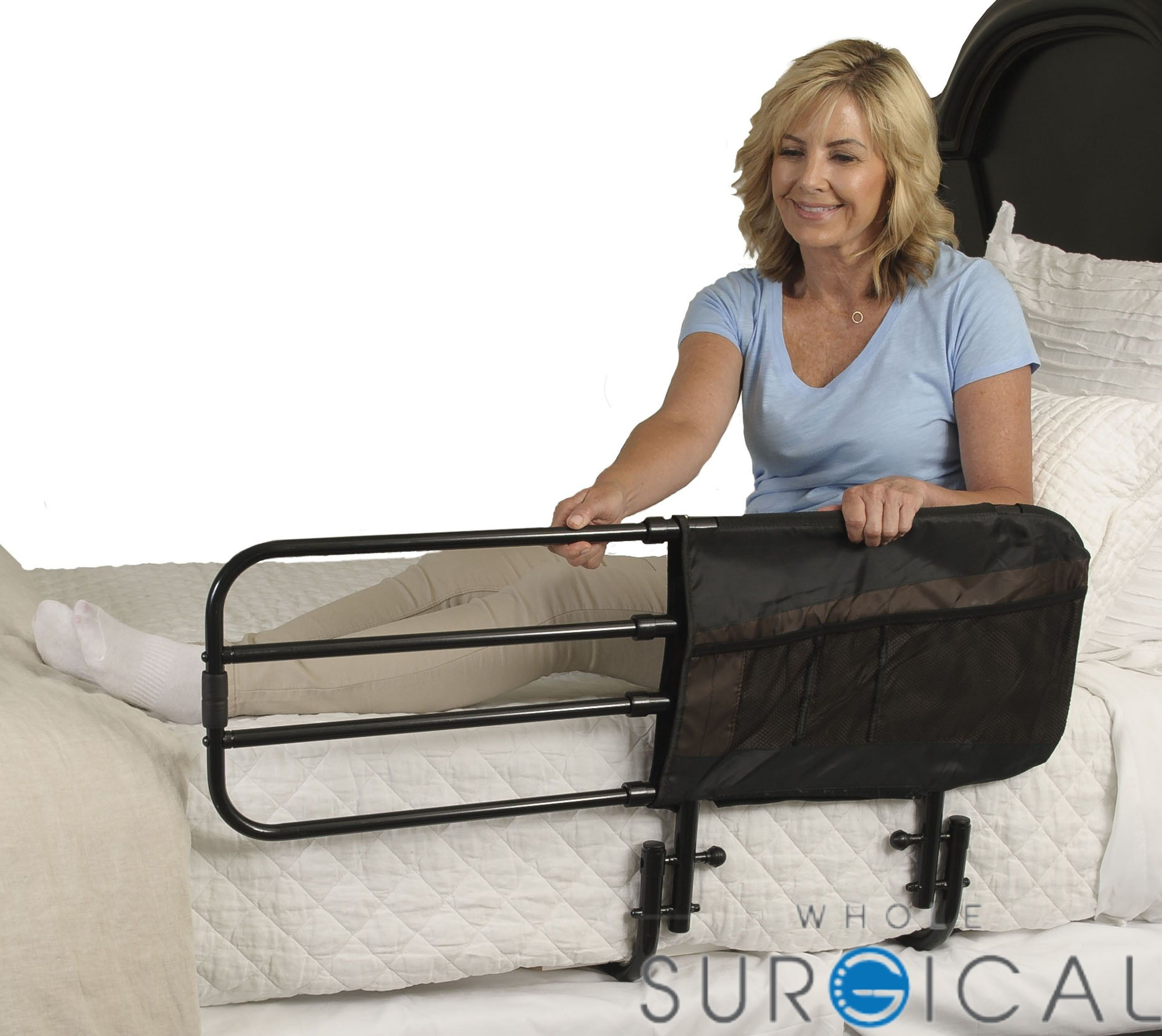 Stander 8000 EZ Adjust Bed Rail Adjustable beds, Bed
