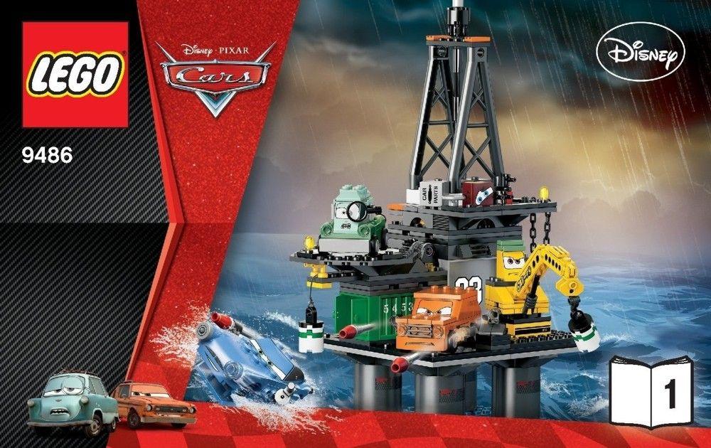 Cars Oil Rig Escape [Lego 9486] Oil rig, Lego disney, Lego