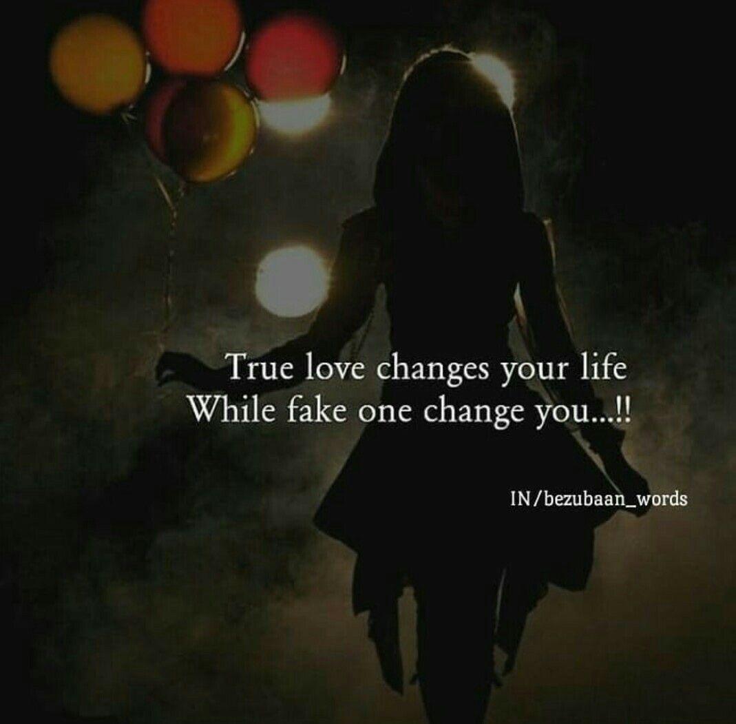 Fake Love Make Your Life Strong Sanjana V Singh Girly Quotes Fake Love Deep Thoughts