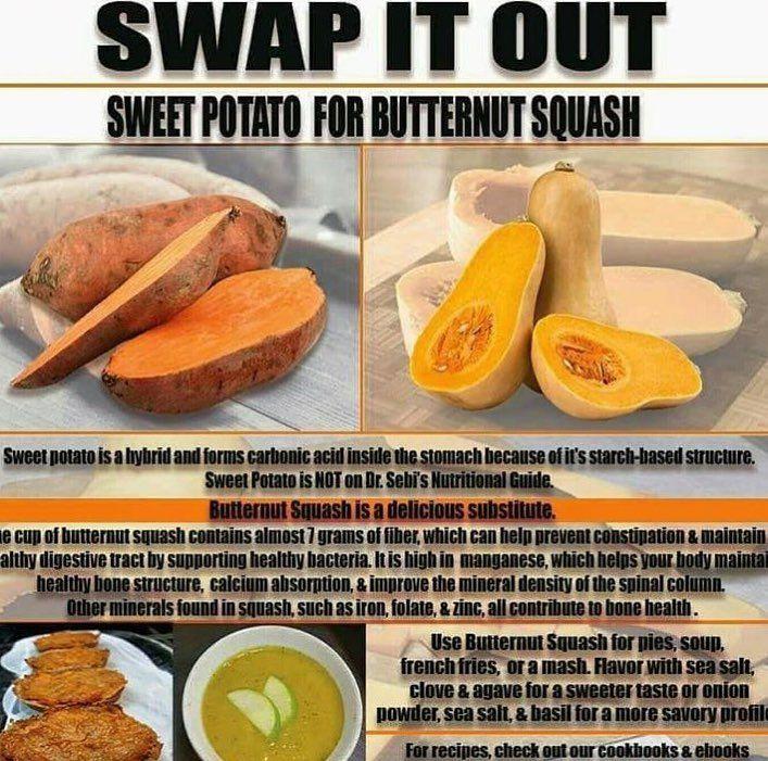 sweetpotato squash butternut