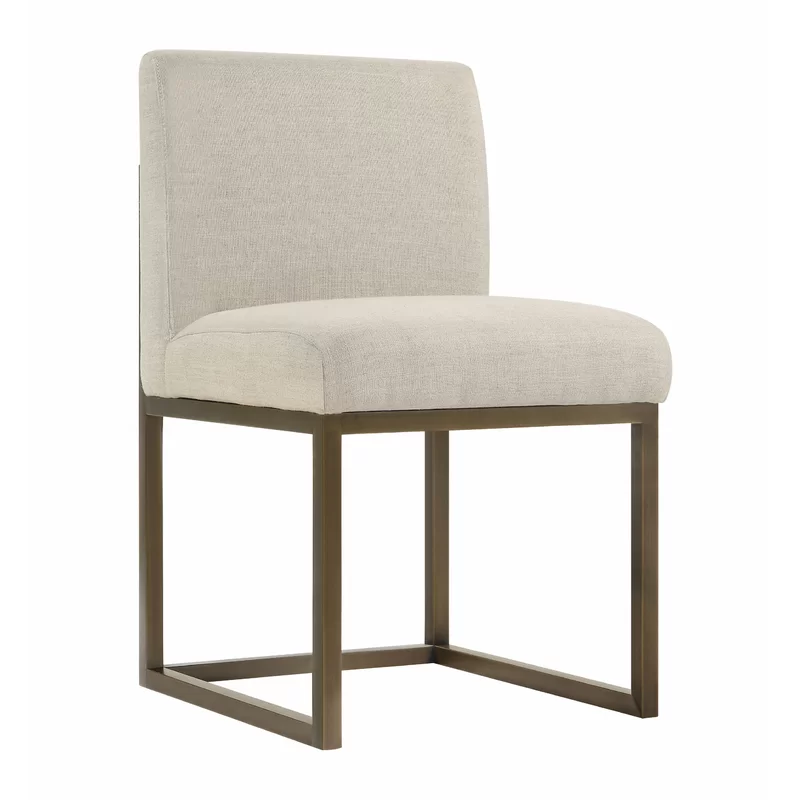 Govea Upholstered Dining Chair Linen Chair Furniture Dining Chairs Upholstered Dining Chairs