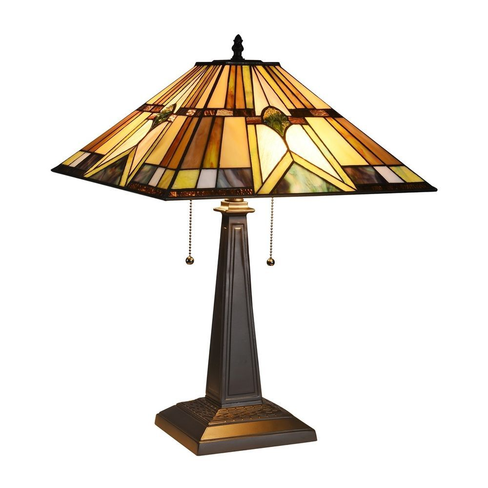 Icymi vintage tiffany table lamps colorful glass desk lighting home