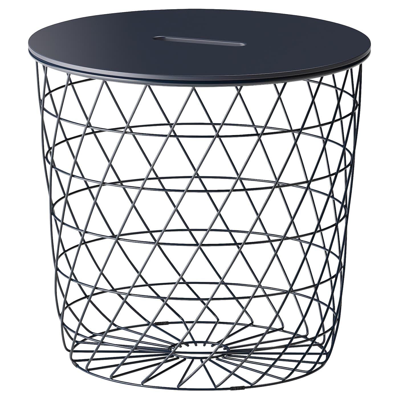 IKEA Kvistbro Storage Table Dark Blue