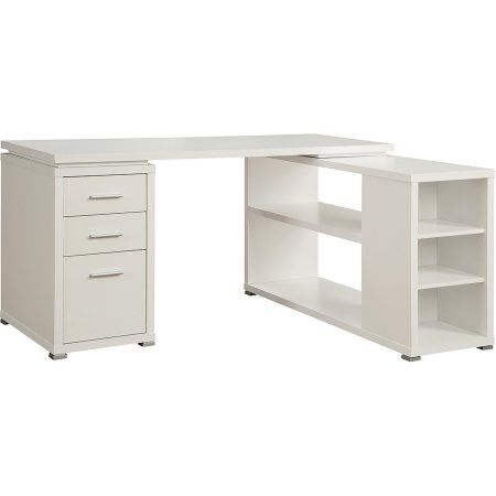coaster shape home office computer desk. coaster yvette collection white l-shaped reversible desk - walmart.com · home office shape computer i