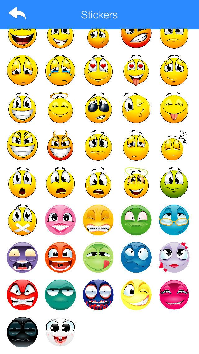 Stickers For WhatsApp Viber Line Telegram And Other Chat Messengers