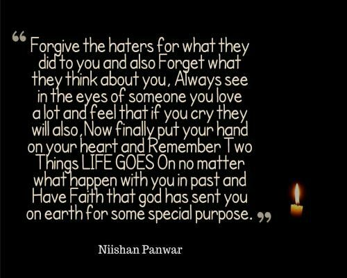 Forgiveness Forgiving My Haters I Bet That S The Strongest I Will Do So Far I M Going To Do It Because I Know I M More C Go For It Quotes Quotes Forgiveness