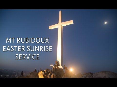 Easter Sunrise Service on Mt Rubidoux in Riverside - Video Travel Journal #2 - YouTube