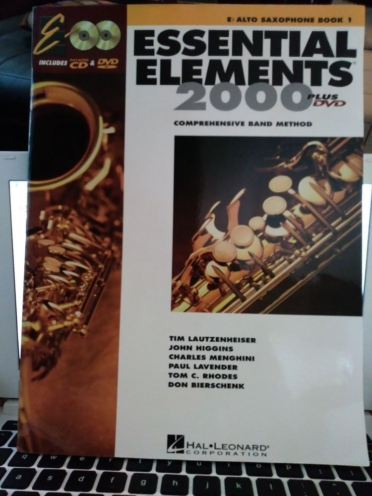 Essential Elements For Band Eb Alto Saxophone Book 1 NEW