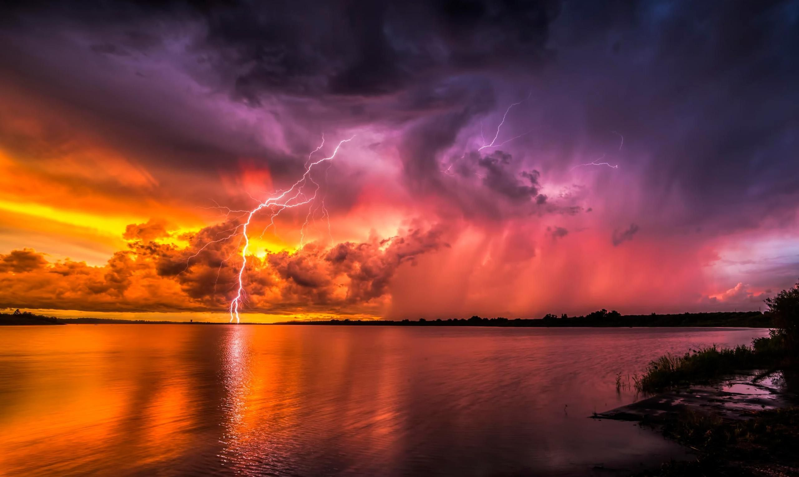 ☆ Thunderstorm with Lightnings ☆
