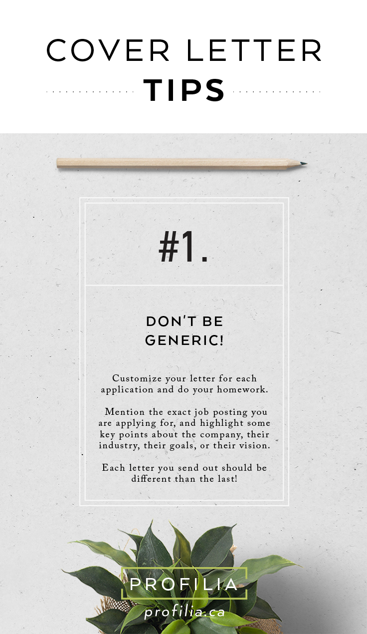 Cover letter tips for your job search! #coverletter #jobhunting ...