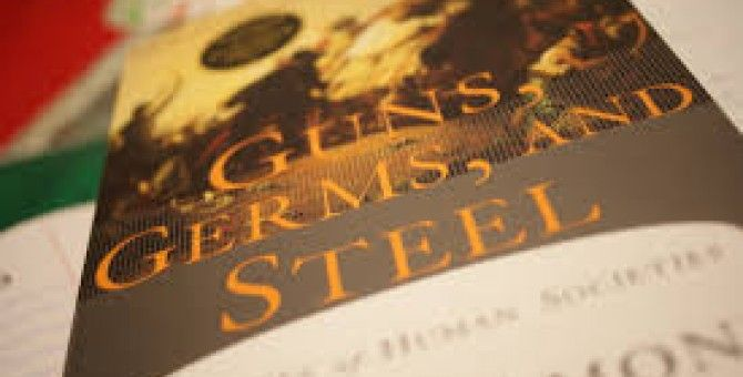 Essays On The Yellow Wallpaper Guns Germs And Steeljared Diamond This Book My Favorite I Read In Search Essays In English also How To Write A Thesis Statement For An Essay Guns Germs And Steeljared Diamond This Book My Favorite I Read In  Essay Writing Topics For High School Students