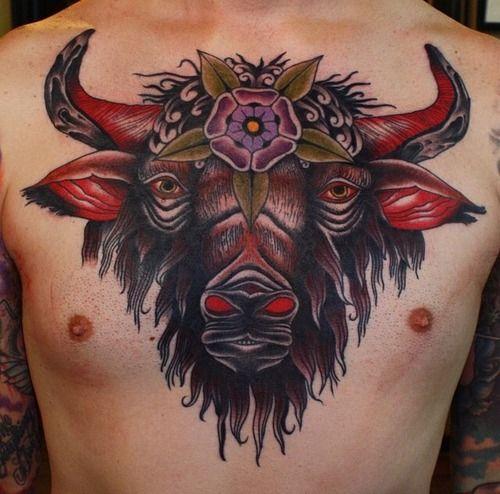 Buffalo Tattoo Buscar Con Google Tatuajes Tradicionales Tatuajes Neo Tradicional
