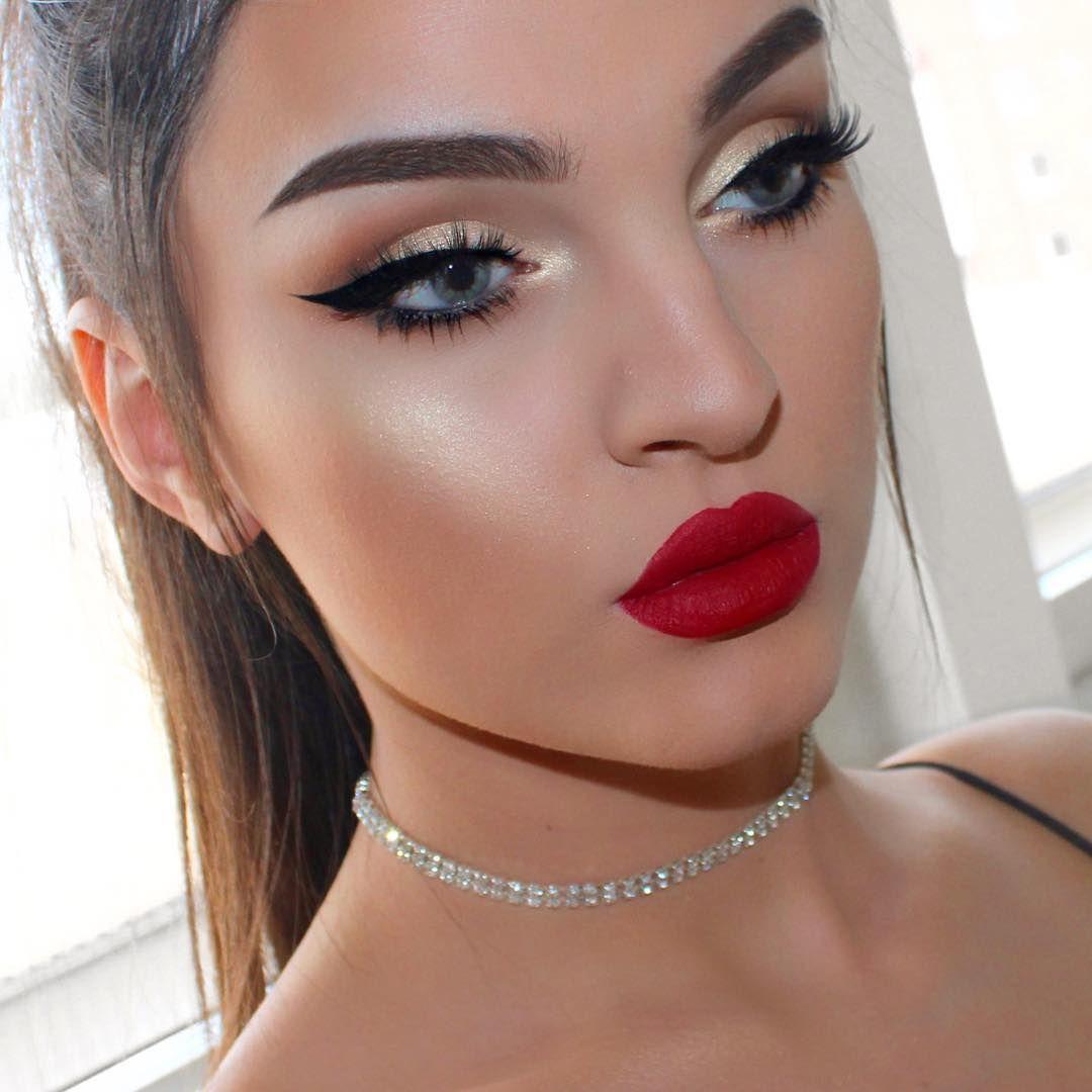 48 8k Followers 538 Following 354 Posts See Instagram Photos And Videos From Efpemakeup Red Lip Makeup Red Lips Makeup Look Elegant Makeup [ 1080 x 1080 Pixel ]
