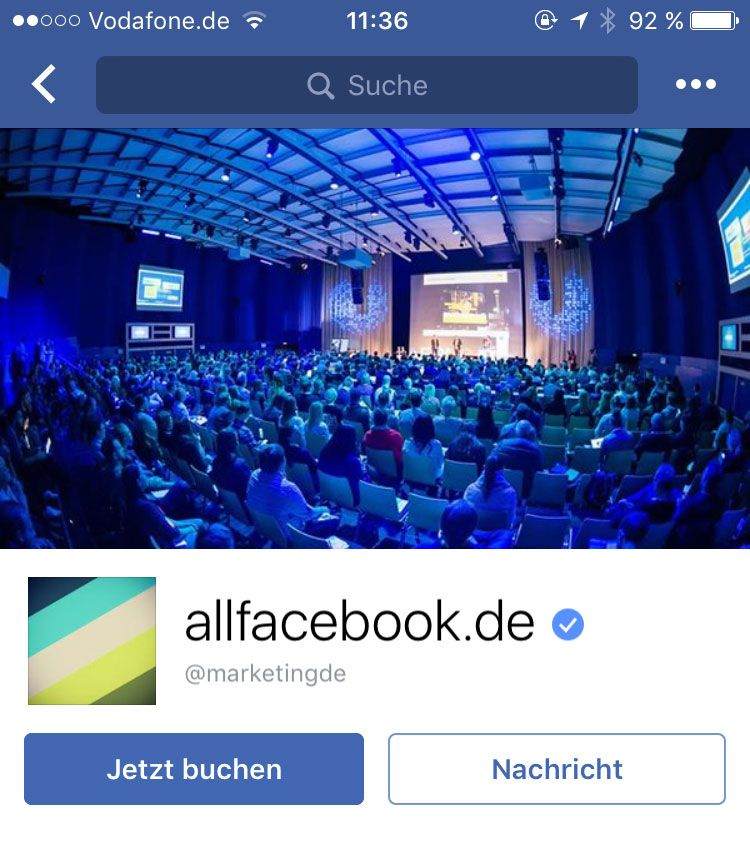 Facebook Titelbild Privat