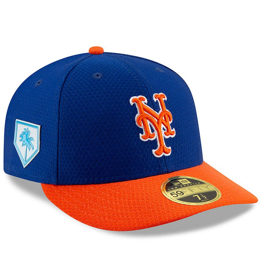 cheap for discount 01d5c 3688b Men s New York Mets New Era Royal Orange 2019 Spring Training Low Profile  59FIFTY Fitted Hat,  39.99
