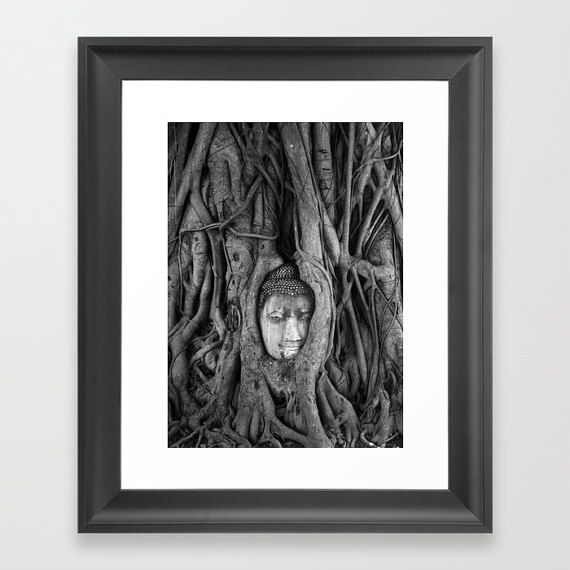 It's Complicated  Tree Root Buddha: Wat by LostOnPurposePhoto