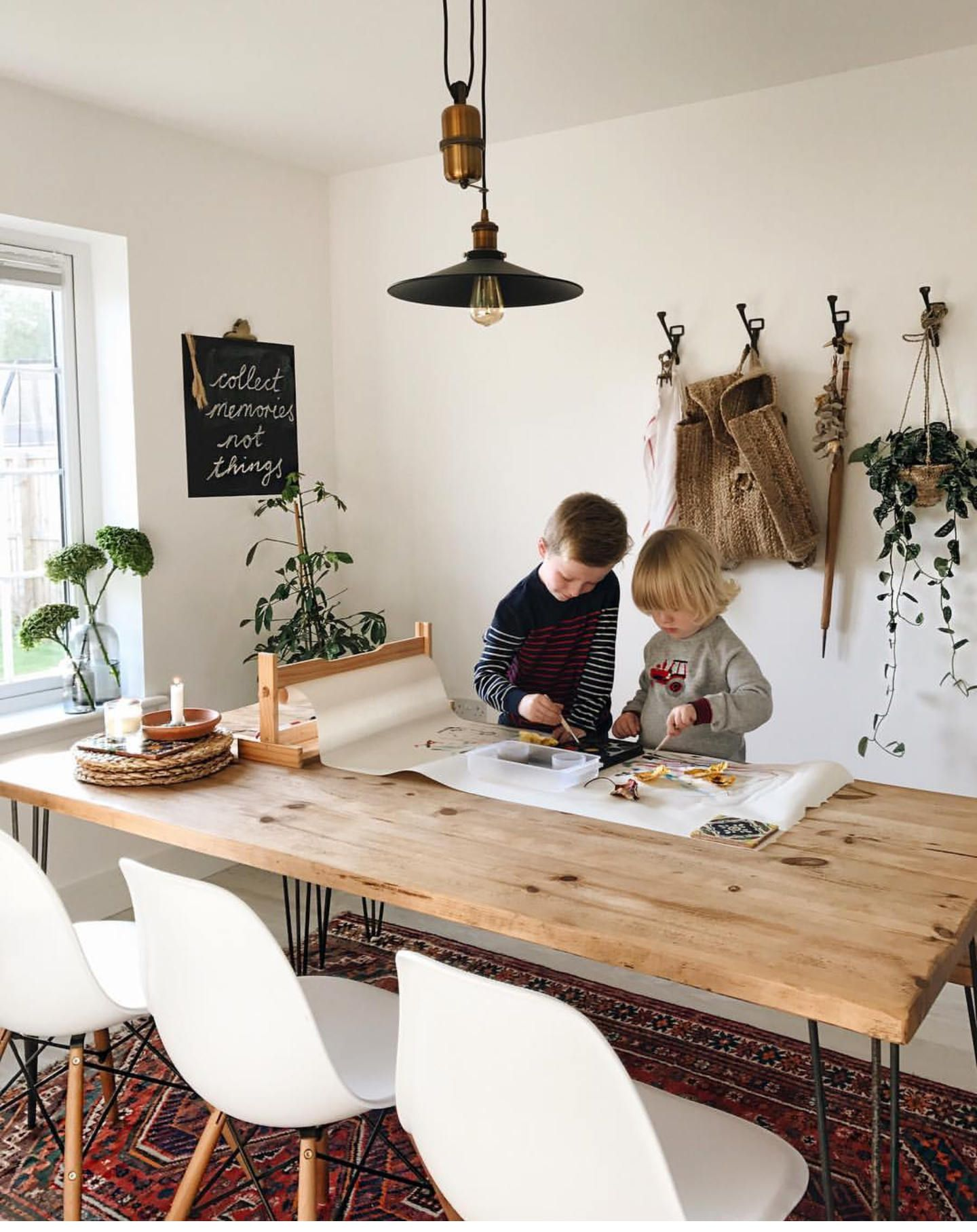Hairpin Dining Table Rustic Leg Kitchen