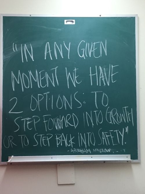 I choose growth