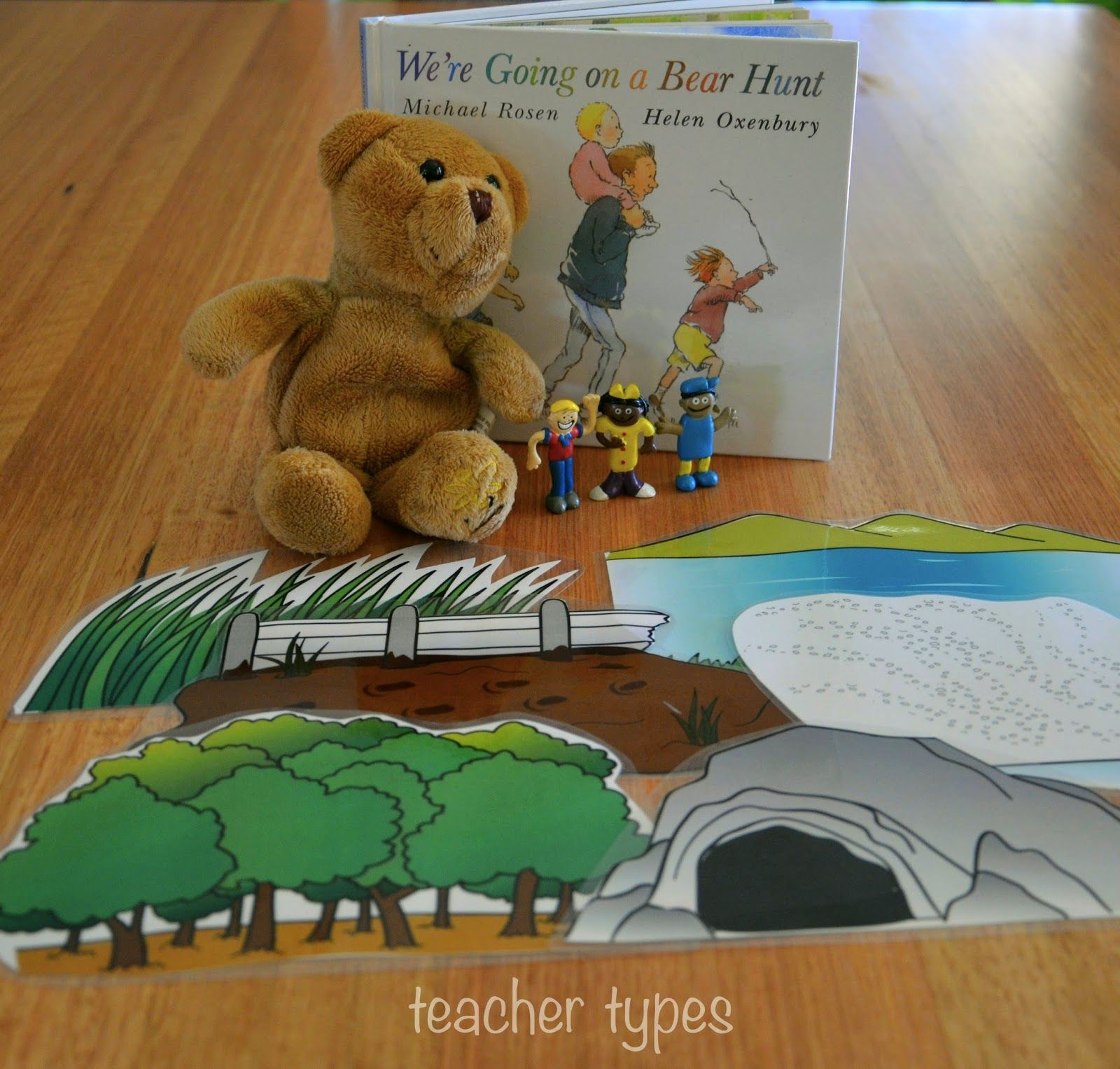 Teacher Types We Re Going On A Bear Hunt