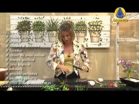 Tudo Artesanal | Rosa no Deserto por Alessandra Assi - 21 de Maio de 2013 - YouTube