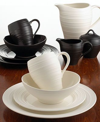 Mikasa Dinnerware Swirl Collection & Mikasa Dinnerware Swirl Collection | Dinnerware Kitchens and Interiors