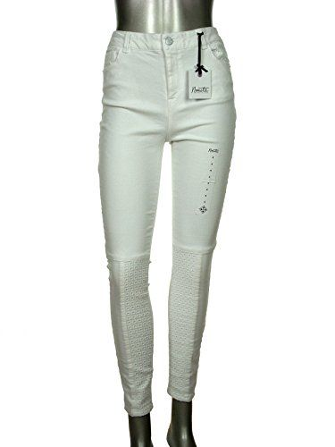 272cb87c Nanette Lepore Women's Eyelet Nolita Skinny Jeans (8, White) | Styles  Fashion Fall in 2018 | Pinterest | Jeans, Skinny Jeans and White jeans