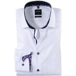 Photo of Olymp Luxor shirt, modern fit, global kent, white, 38 olympymp