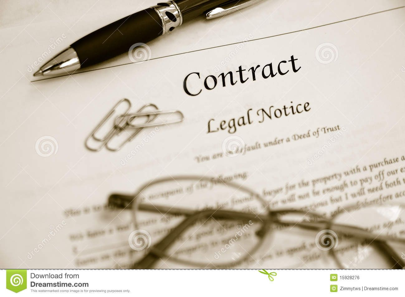 Legal Contract Royalty Free Stock Image - Image: 15928276 - legal ...