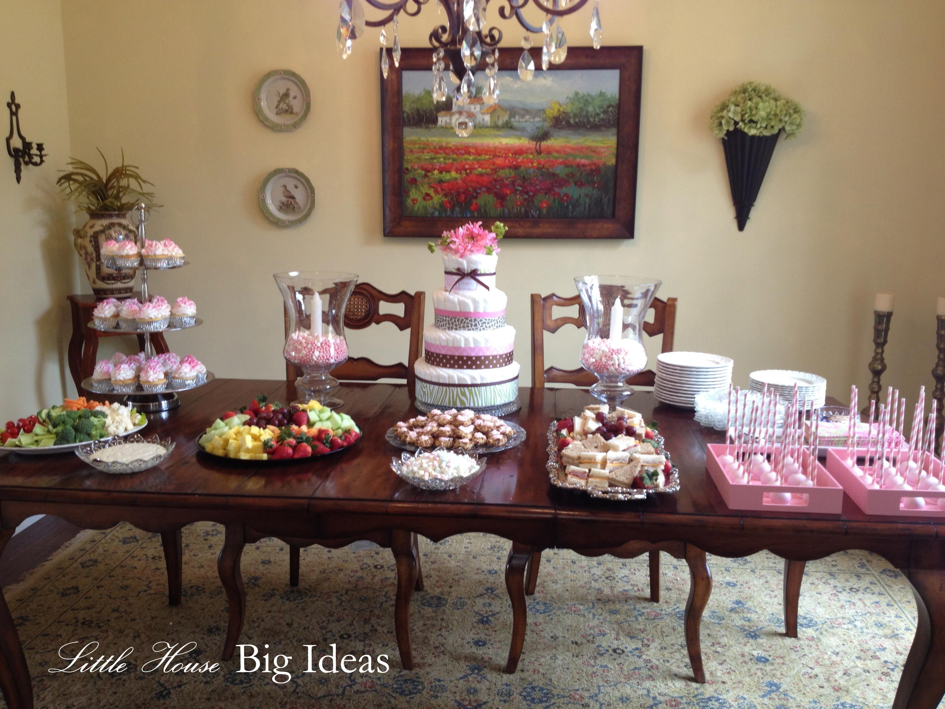 Baby Shower Ideas Entertainment ~ Little Girl Pink Baby Shower