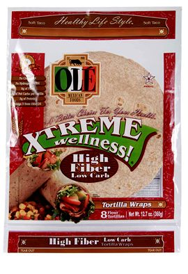 Only 50 Calories Best Wrap Ever Moist Holds Together And Tastes Really Good Love Them High Fiber Low Carb Low Carb Wraps Low Carb Tortillas