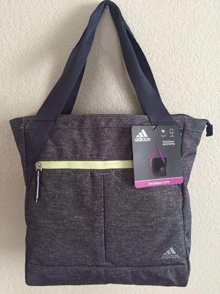 ADIDAS Fearless Tote Gym bag Women Grey Night flash 16